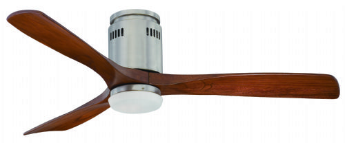 "Fantasia Zeta Elite (New LED Version) 52"" Brushed Nickel Ceiling Fan + Remote +  LED Light 114970"
